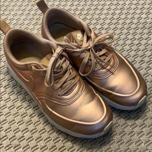 AirMax Thea Rose Gold Sneakers